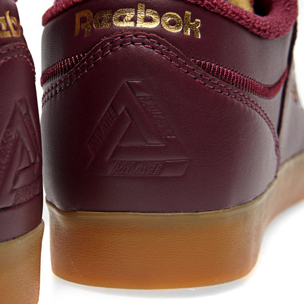 Reebok x Palace Workout Low Clean FVS. Burgundy   White. AU 119. Plus Free  Shipping. image 143712a52