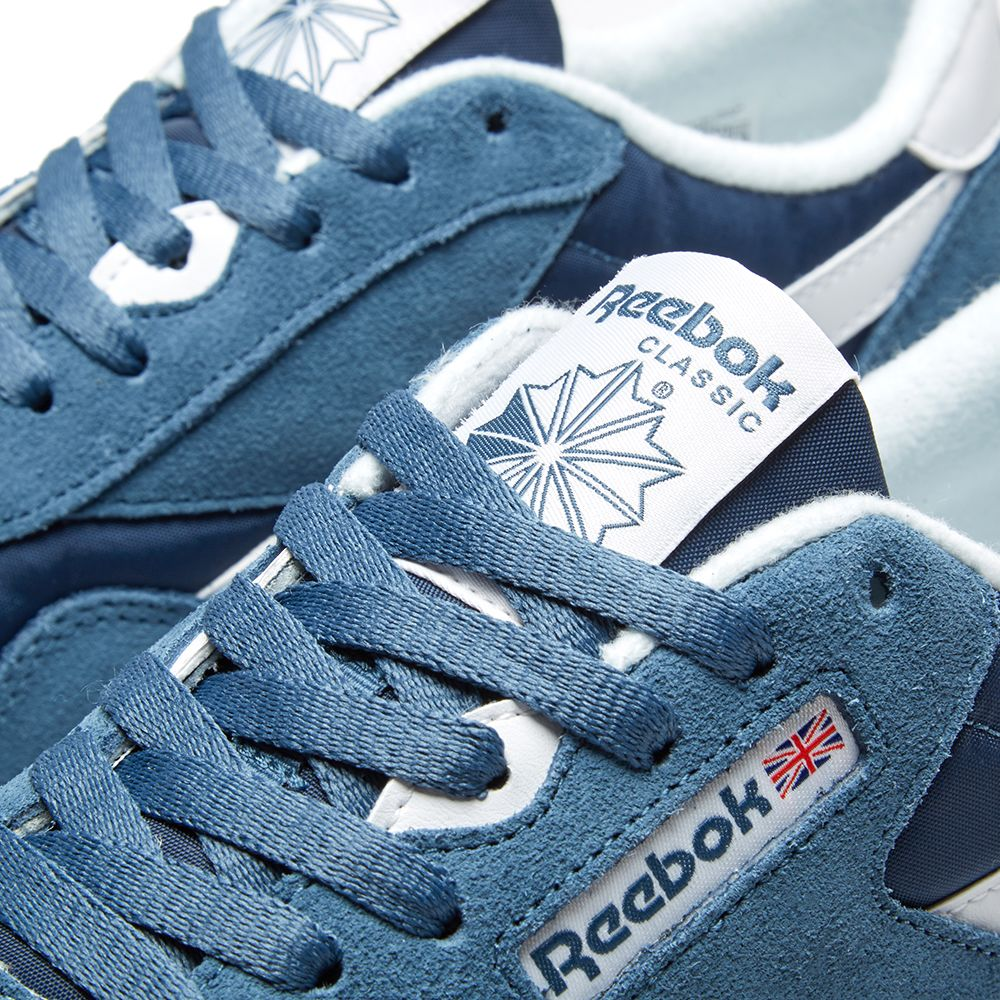 9de8cd20e84 Reebok Classic Nylon Brave Blue   White