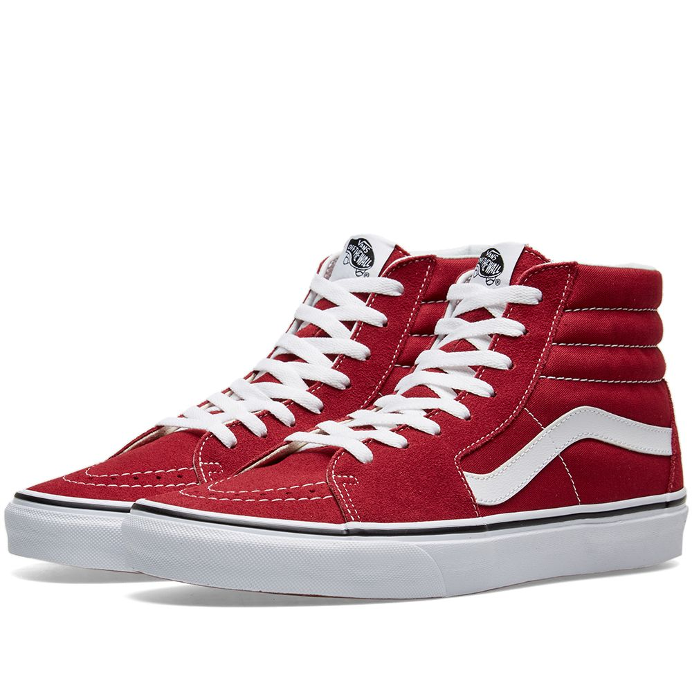 0cb0563bb07 Vans UA SK8-Hi Rumba Red   True White