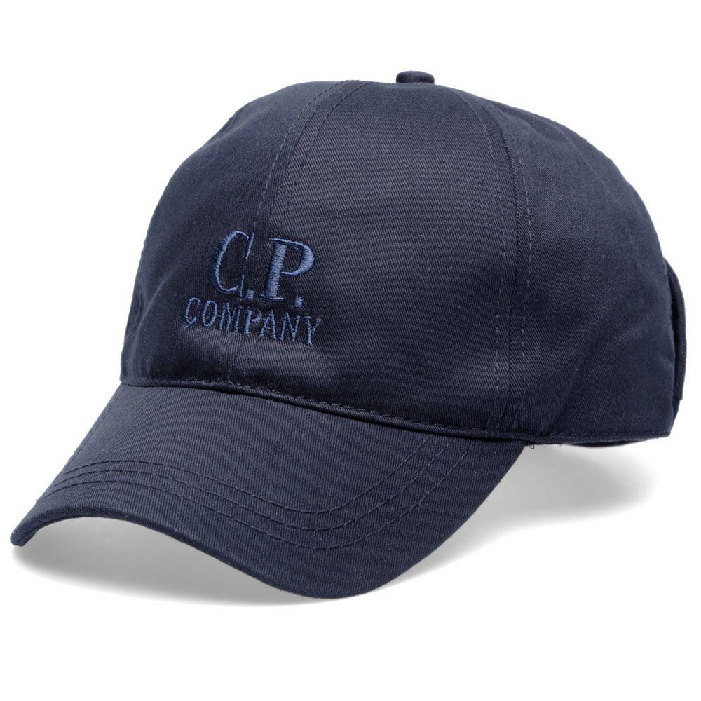 473b7c15760 C.P. Company Goggle Cap Navy