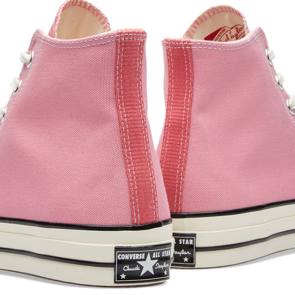 Converse Chuck Taylor 1970s Hi Vintage Canvas Chateau Rose  a98bee86b