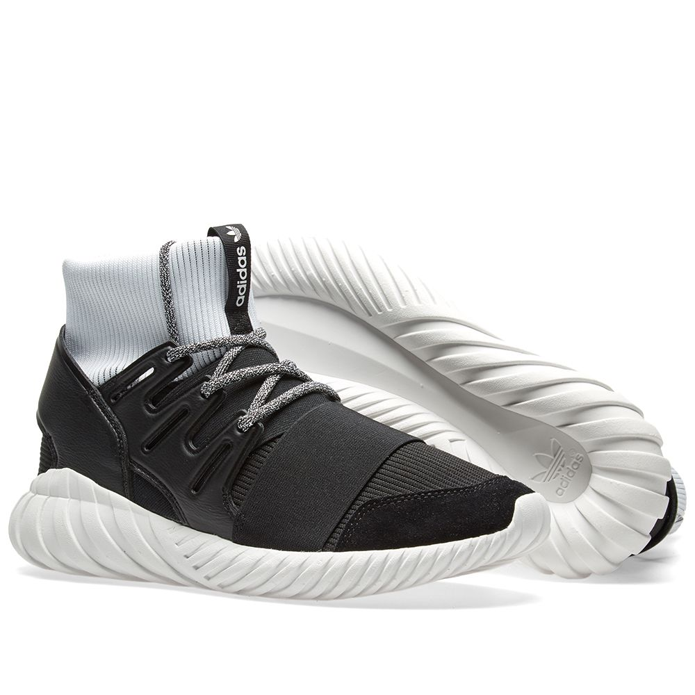 33ee00903647 Adidas Tubular Doom Black   White