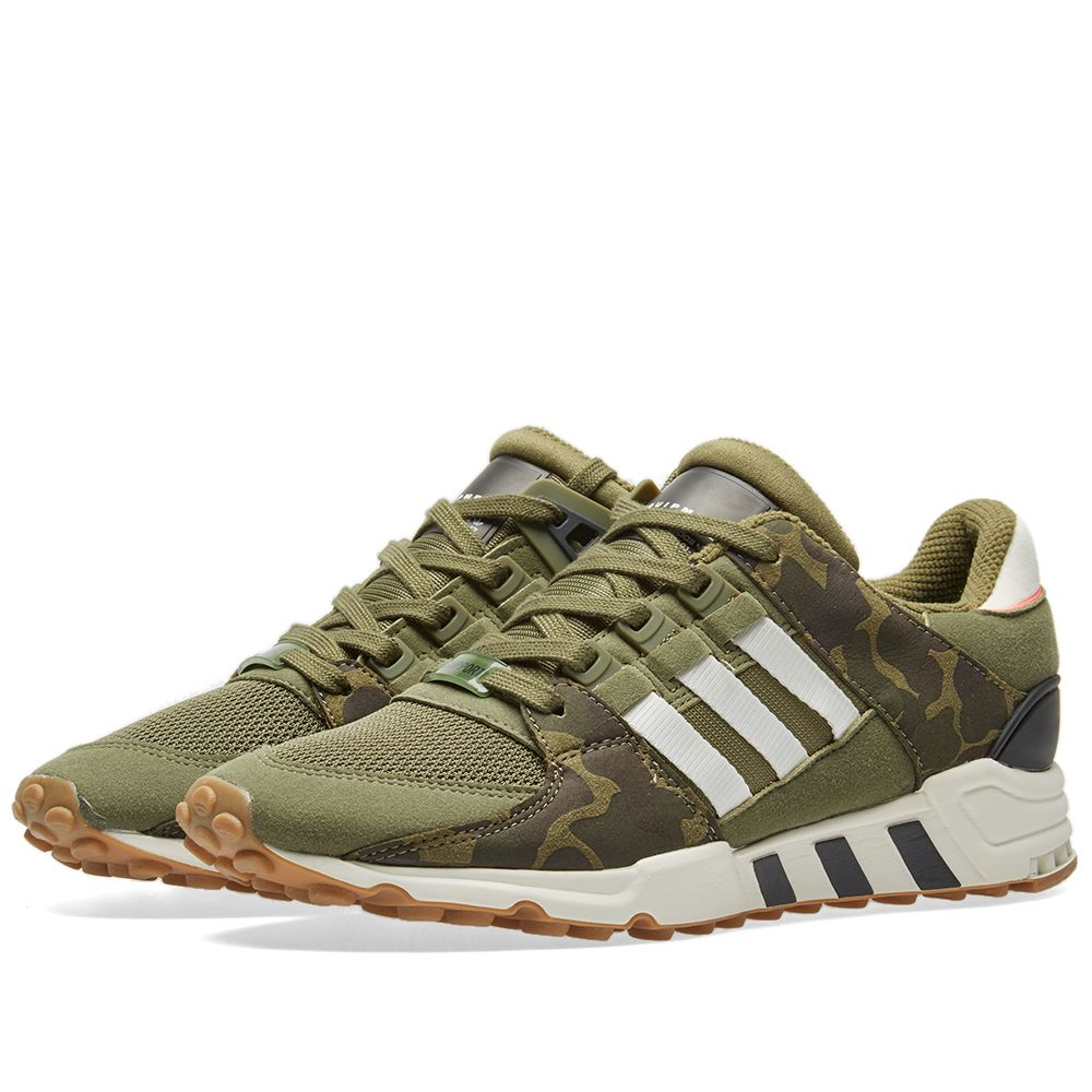 meet edc16 a2a87 Adidas EQT Support RF Olive Cargo  Off White  END.