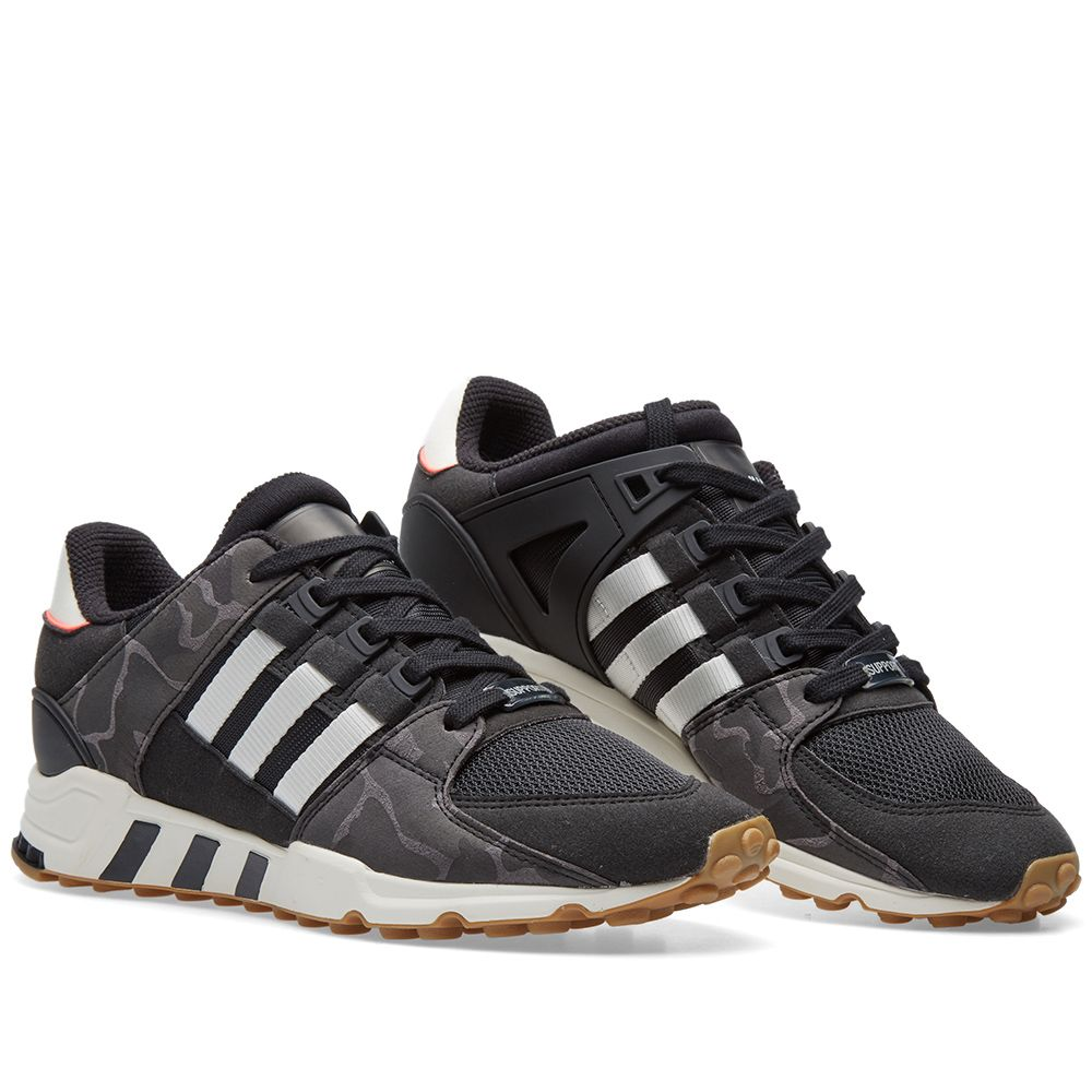 97475dc9aba2 Adidas EQT Support RF Core Black   Off White