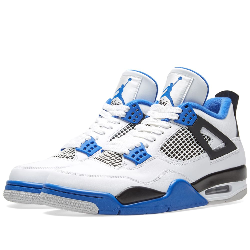 6fcb4cb1d41af7 Nike Air Jordan 4 Retro  Motorsport  White