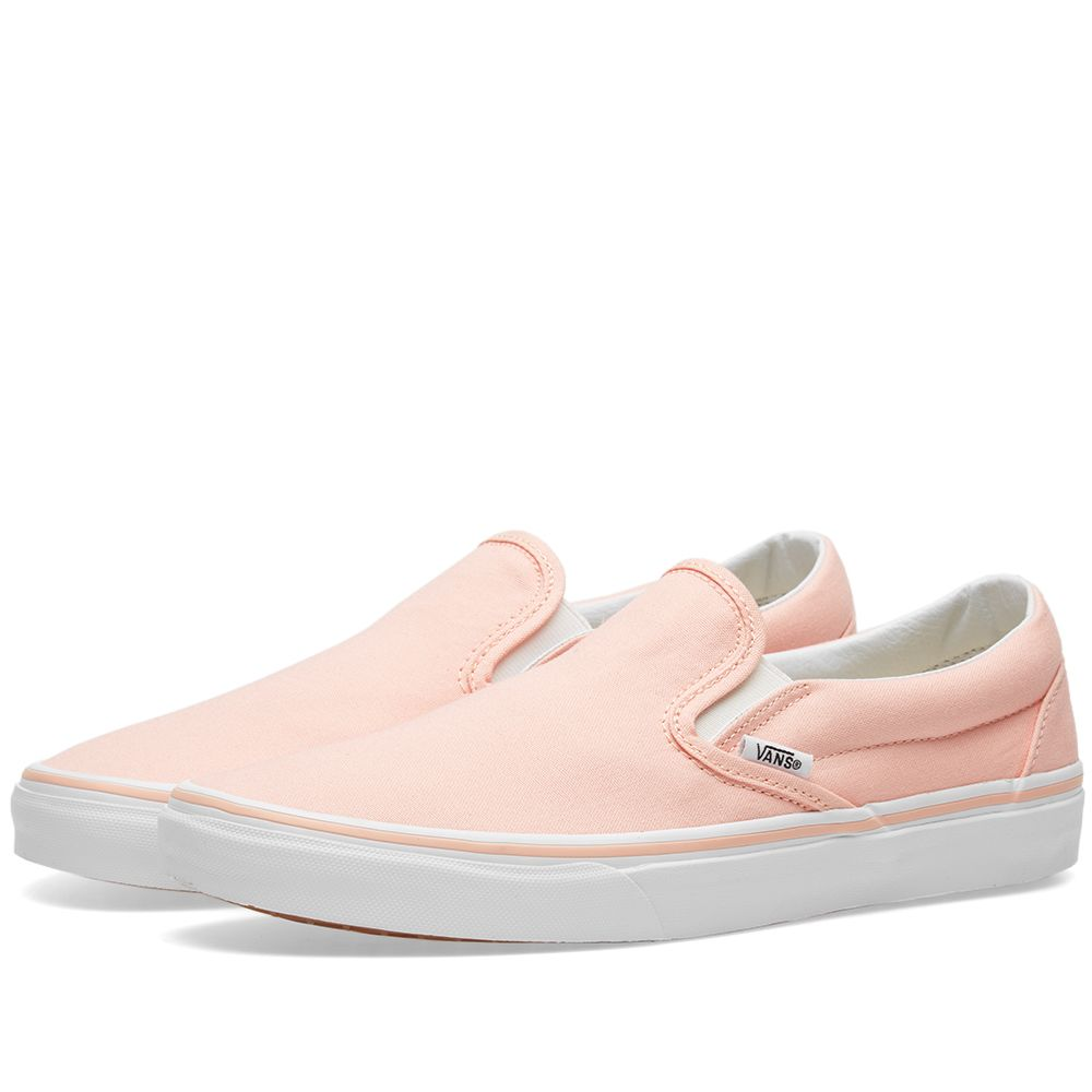 ba4c08c5713e Vans Women s Classic Slip On Tropical Peach