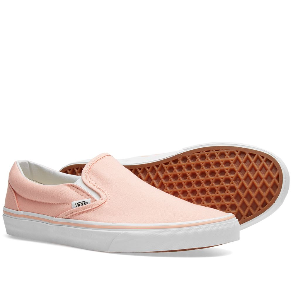 b715d7abbc Vans Women s Classic Slip On Tropical Peach