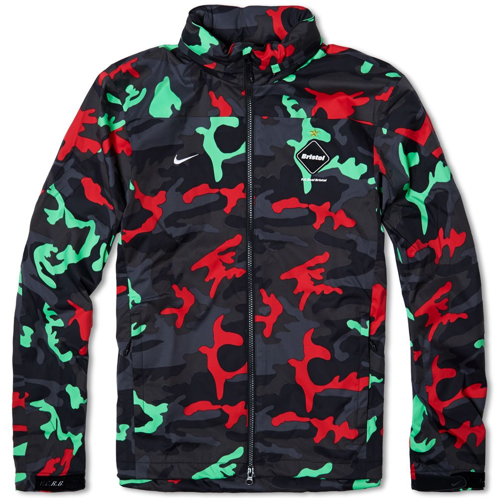 5d5fa92fedb0 Nike F.C. Real Bristol Storm-Fit Warm Up Jacket Light Lucid Green ...