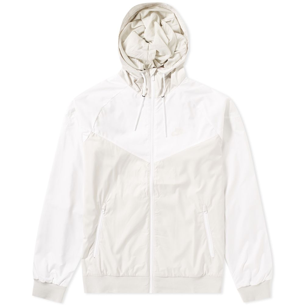 31d80afb3a Nike Windrunner Jacket Light Bone   White
