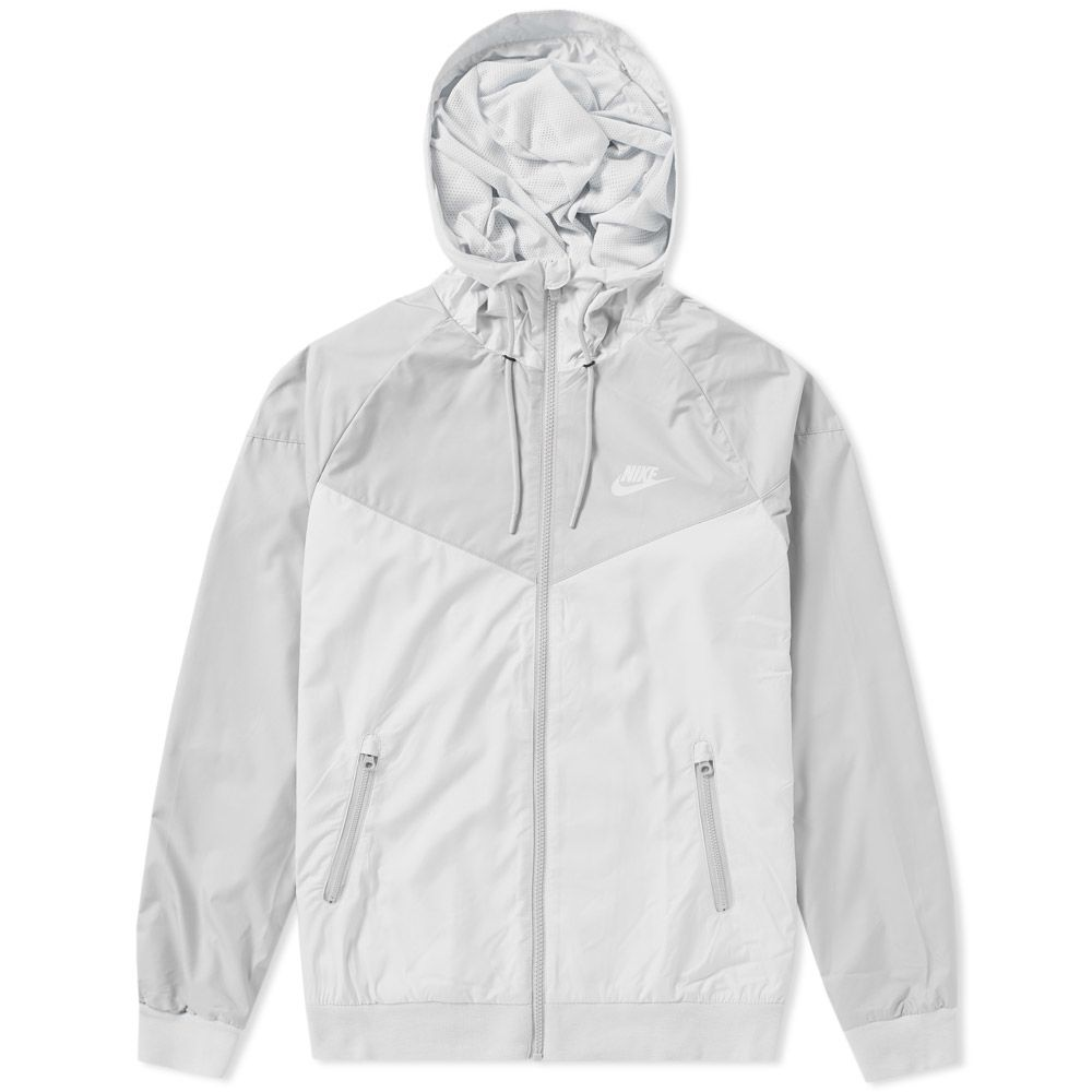 0f86f1c8f4 Nike Windrunner Jacket Pure Platinum   Wolf Grey
