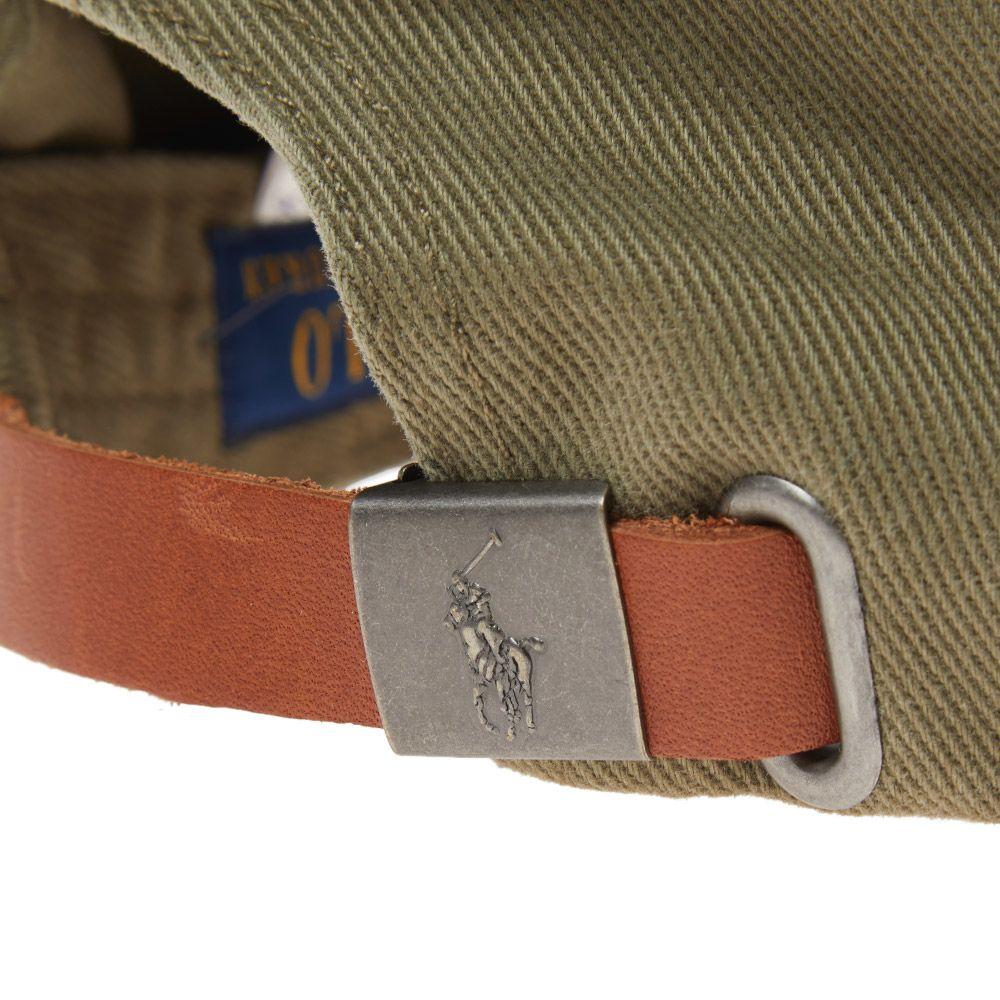 c59f3f156ae Polo Ralph Lauren NY Vintage Baseball Cap Olive