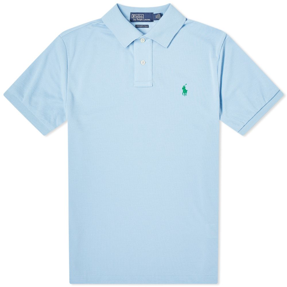 e2b4b2d8f93a1 Polo Ralph Lauren Sustainable Polo Baby Blue