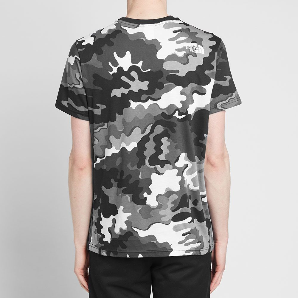 0c359b3530d The North Face Psychedelic Camo Simple Dome Tee Black Psychedelic ...