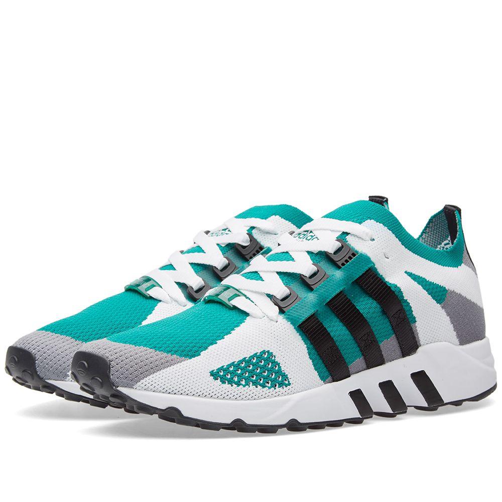 official photos a7715 da884 Adidas EQT Running Guidance Primeknit. Grey, Core Black  Sub Green. 175.  image