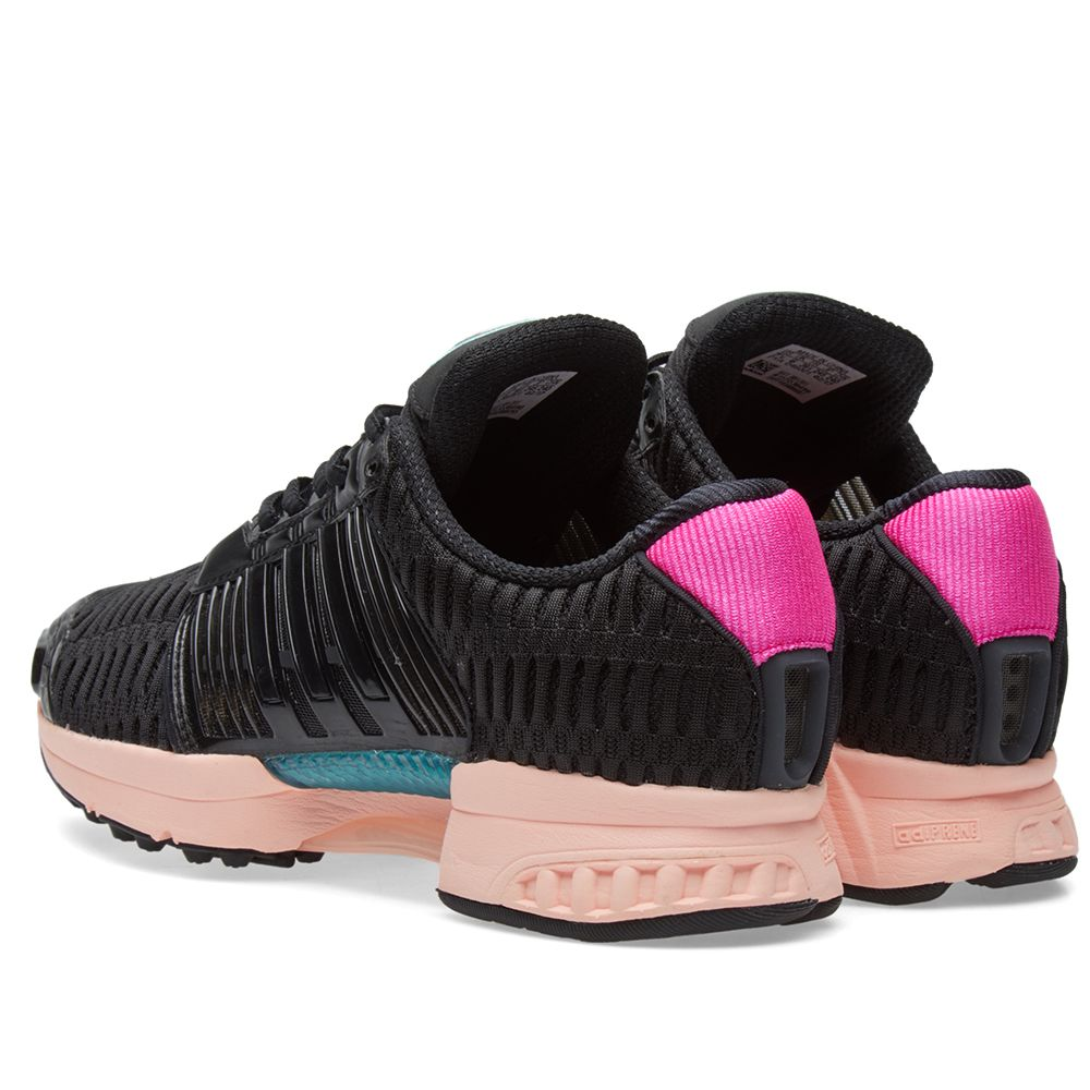 half off b2d1f d18b1 Adidas Womens ClimaCool 1 W. Core Black  Haze Coral