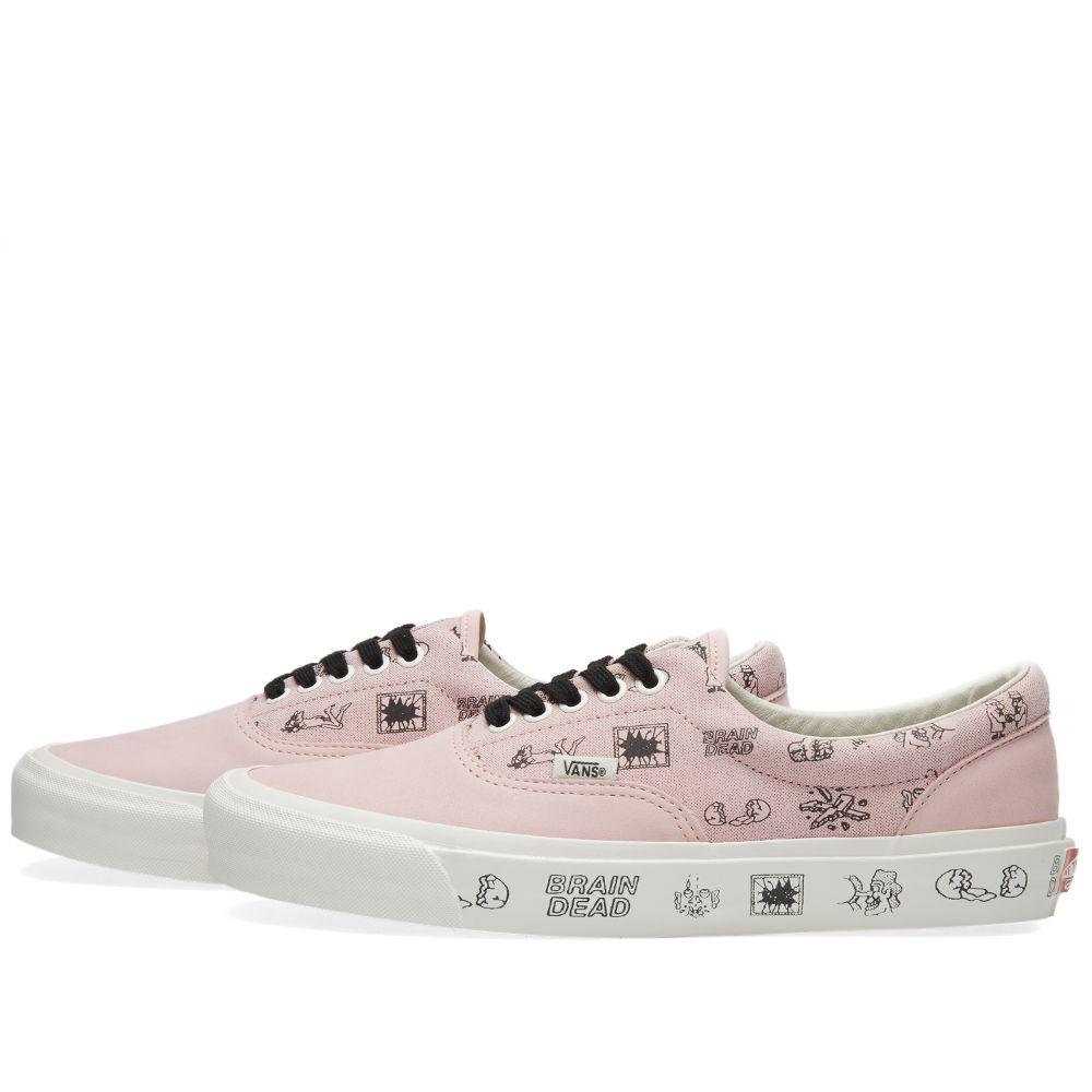 eed04d8f6fb0 Vans Vault x Brain Dead Era LX Silver Pink   Marshmallow