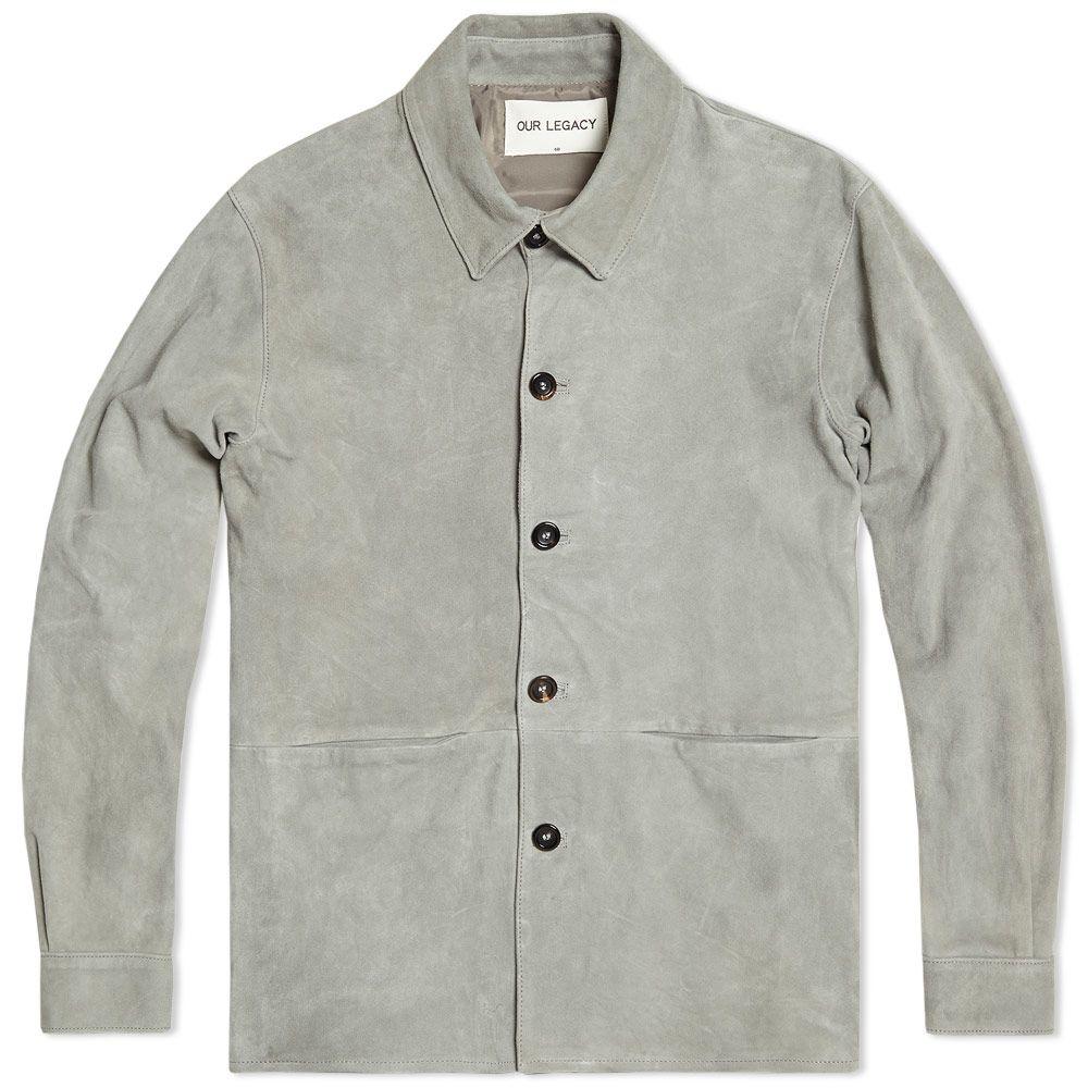 e63db5d78cd30 homeOur Legacy Suede Shirt Jacket. image. image. image. image. image. image