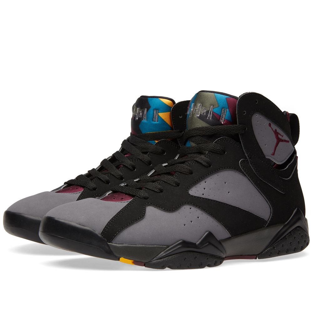 reputable site 0f2ec 947b0 Nike Air Jordan VII Retro Black, Bordeaux   Graphite   END.