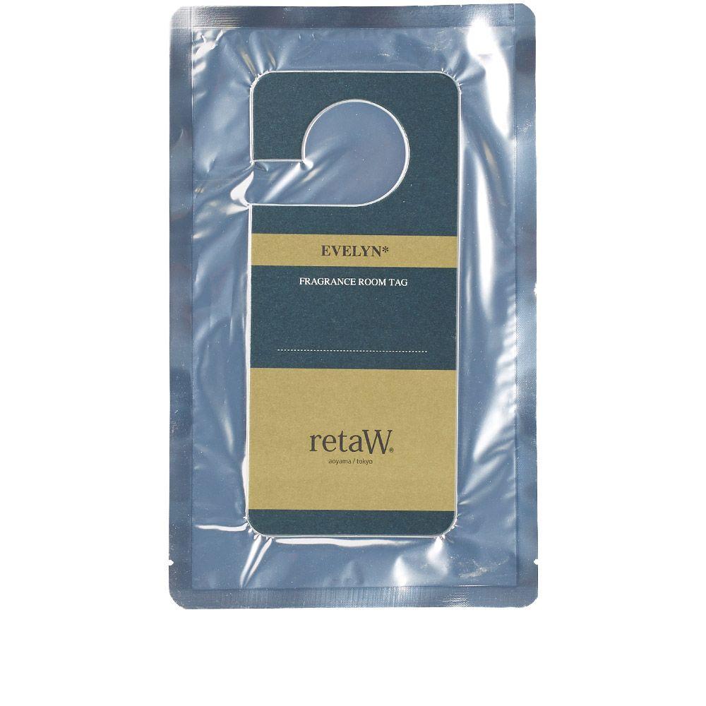 Retaw Fragrance Room Tag Evelyn End