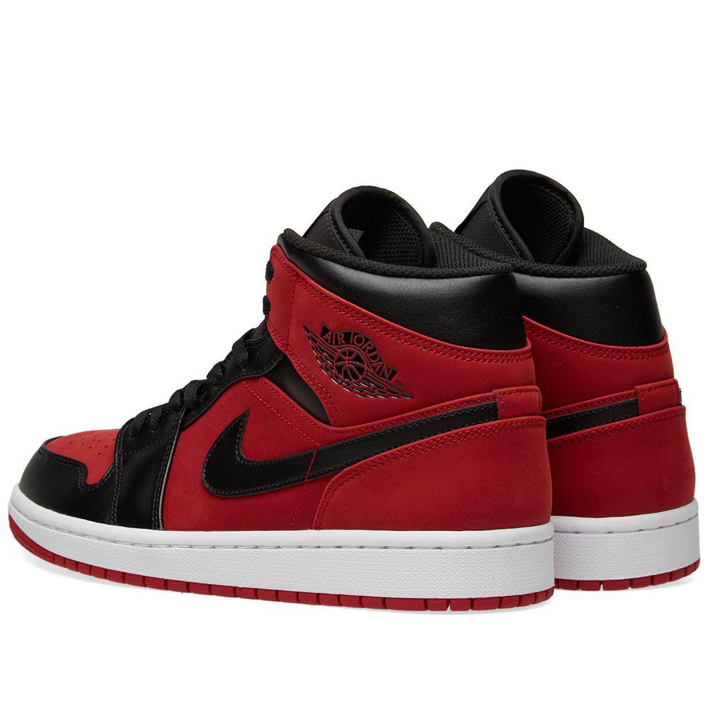 1551ade929acf Air Jordan 1 Mid Gym Red
