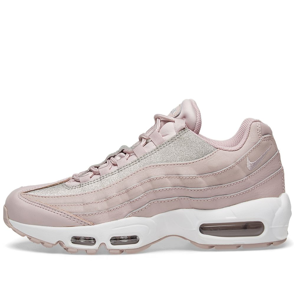 outlet store b0a1b 887e9 Nike Air Max 95 SE W Rose, Platinum  White  END.