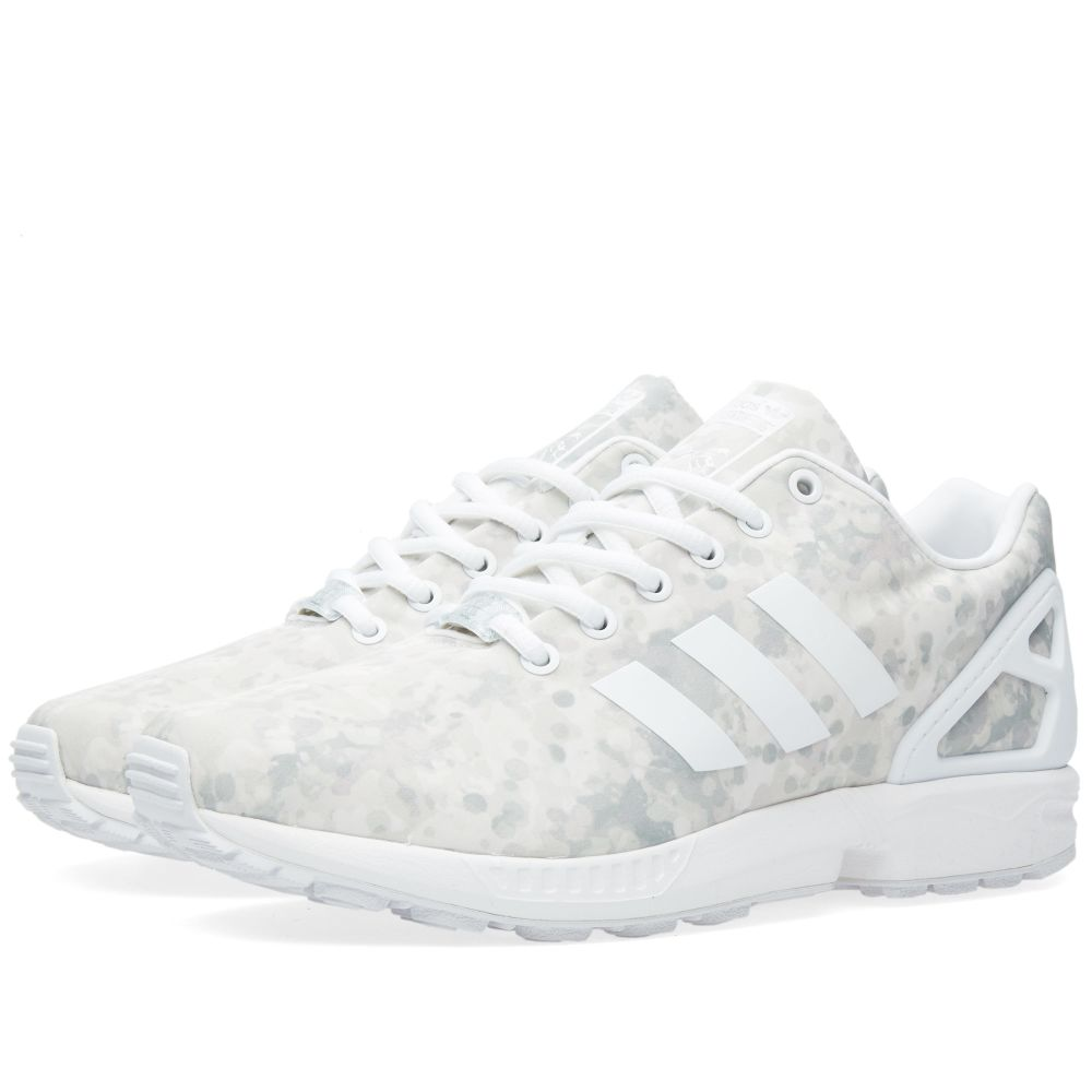 734bbd82231e Adidas Consortium x White Mountaineering ZX Flux White