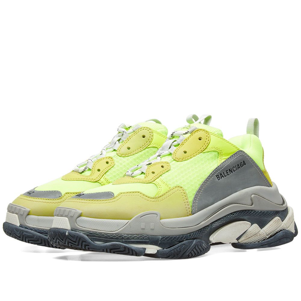 606bb608c627 Balenciaga Triple S Sneaker Yellow