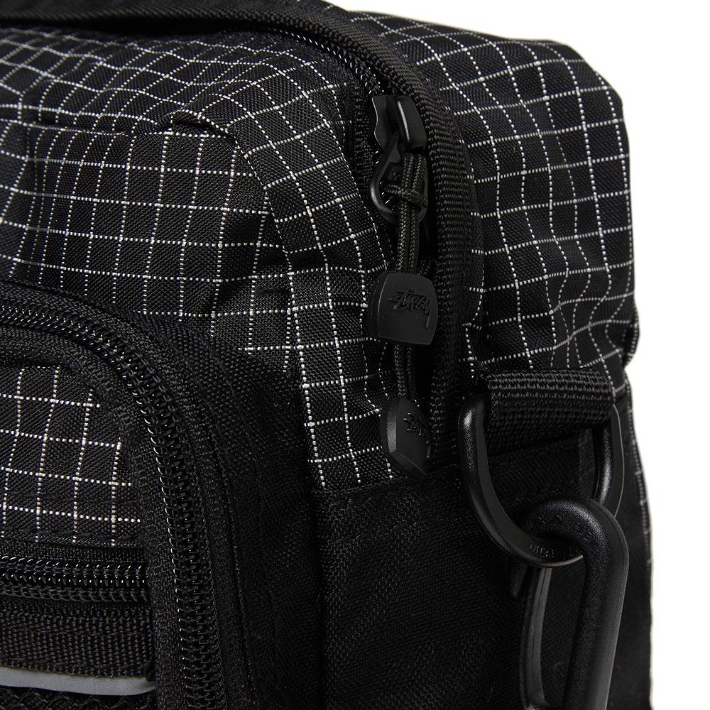 8f3ea281d0 Stussy Ripstop Nylon Shoulder Bag Black