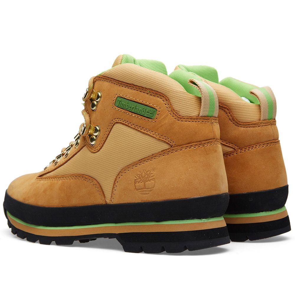 dabee54dc3c6 Stussy x Timberland Euro Hiker Boot Wheat