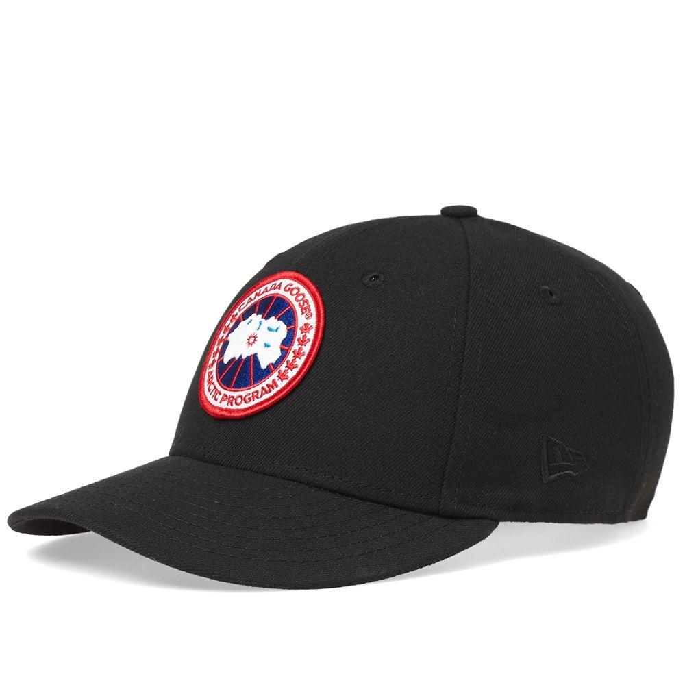 aead95c4ba4 Canada Goose New Era Hat Black