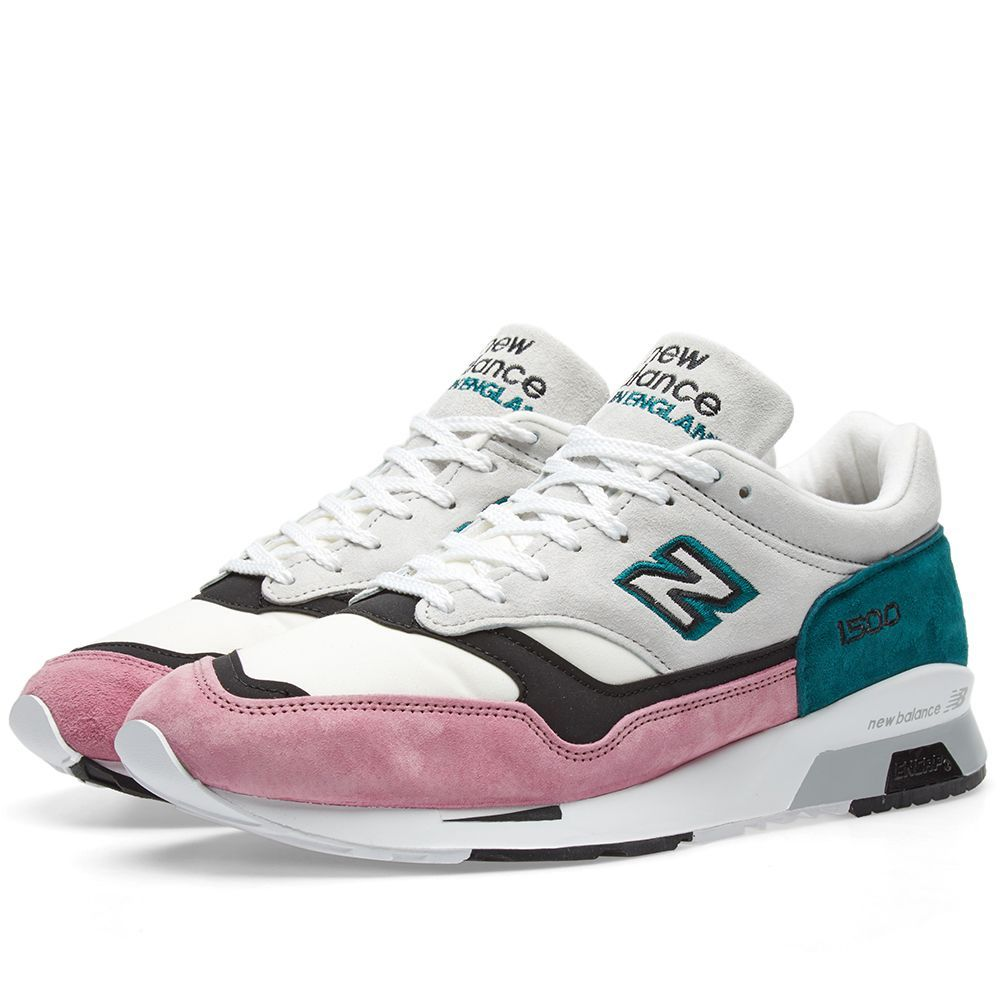reputable site 4d055 1d748 New Balance M1500PFT Flamingo - Made in England White  Pink