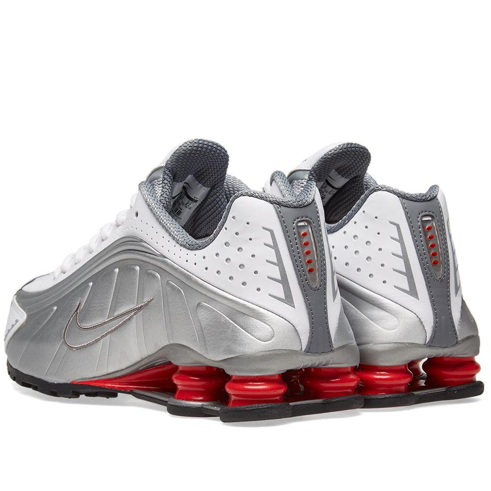 6115de84d468 Nike Shox R4 White