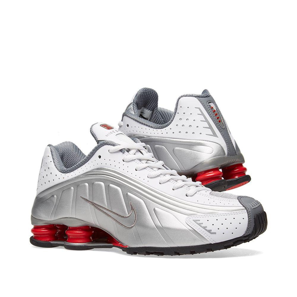 Nike Shox R4 White 5d09b8646