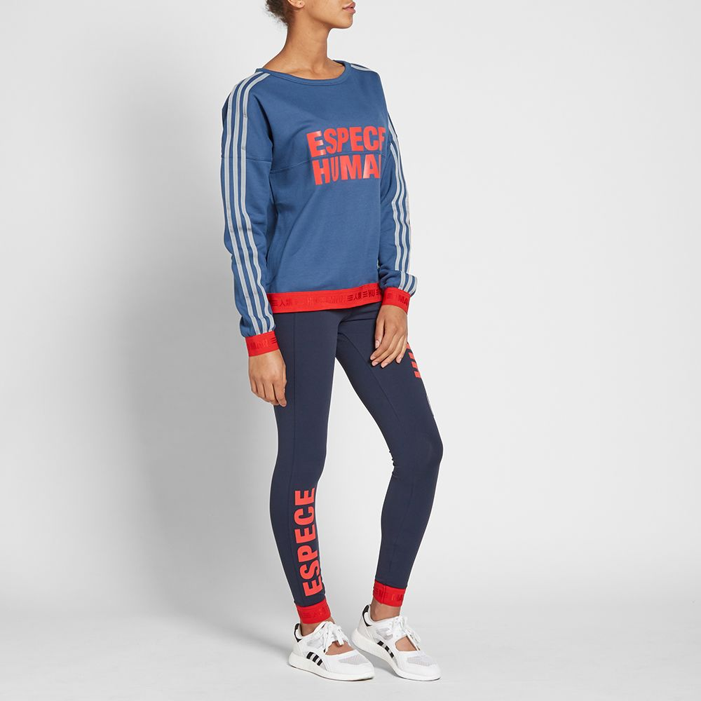 Adidas Women s x Pharrell Williams Human Race W Legging Navy bdda398293