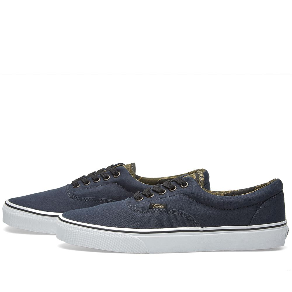 Vans Era Dark Navy   Black Camo  b883615f2