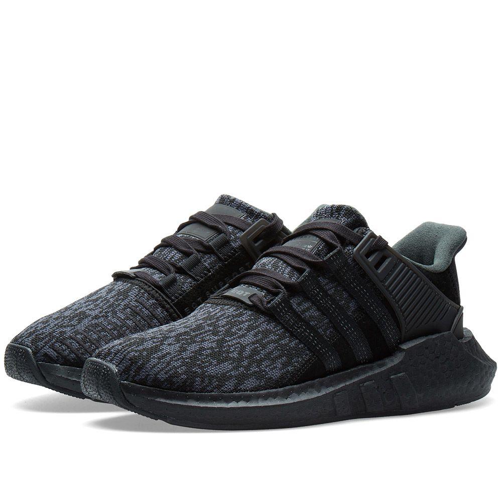 Adidas EQT Support 93 17 Triple Black  3fb8a302716c