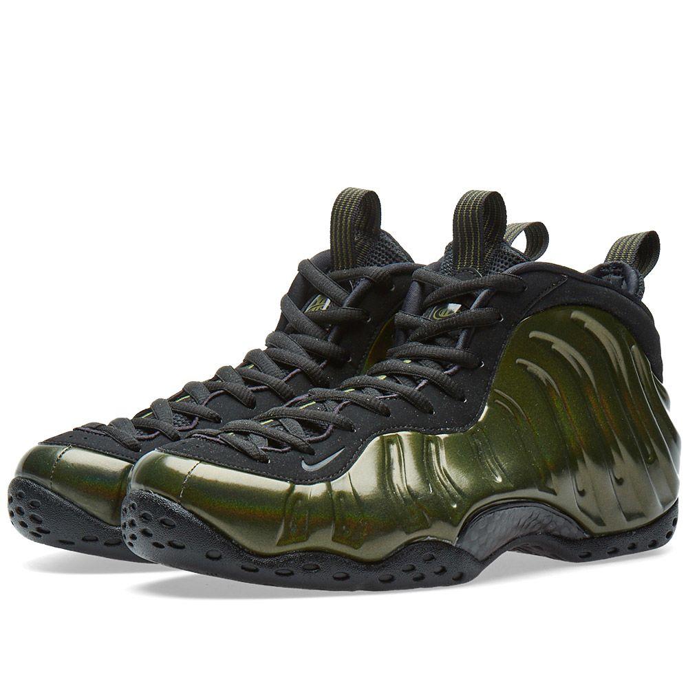 9e76d7dc574 Nike Air Foamposite One Legion Green   Black