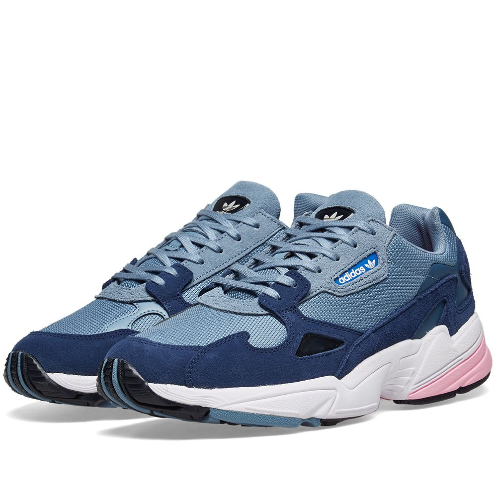003e8d60e0d Adidas Falcon W Raw Grey   Light Pink