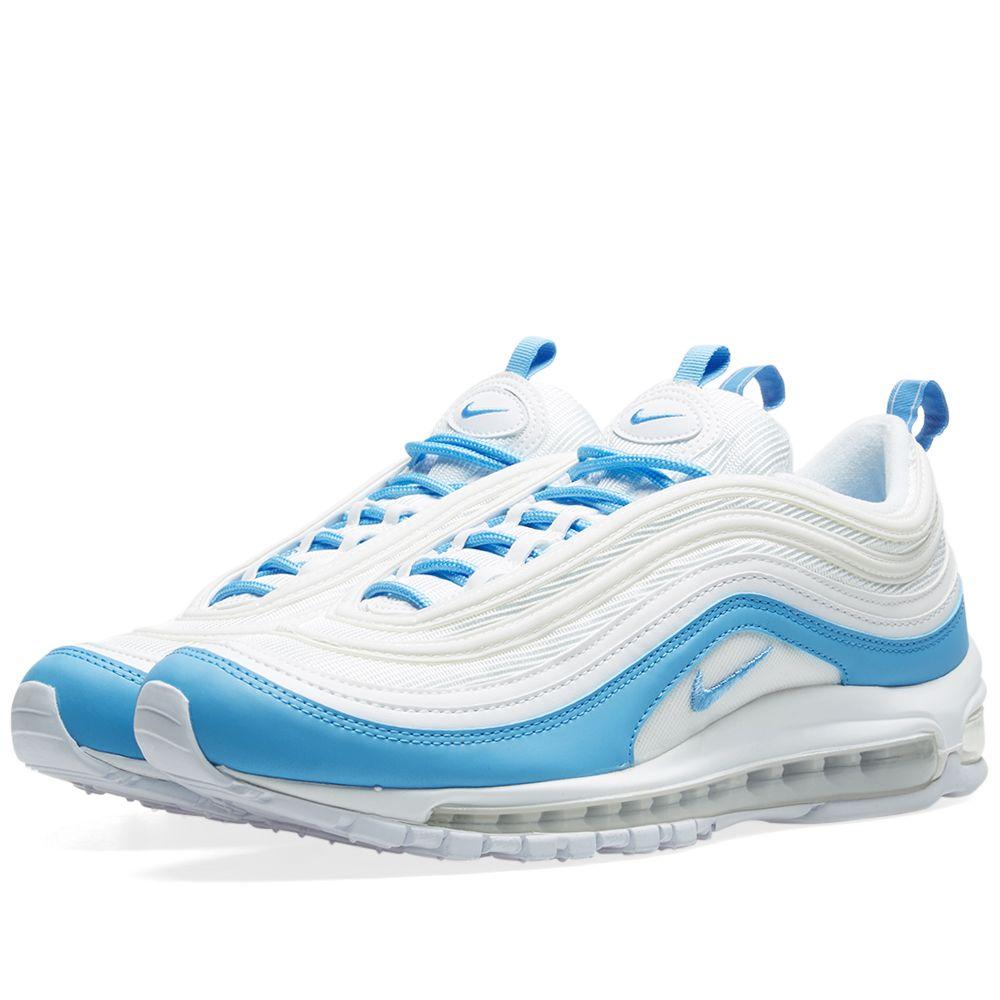 official photos 6bd26 d7ee9 Nike Air Max 97 Essential W White  Blue  END.