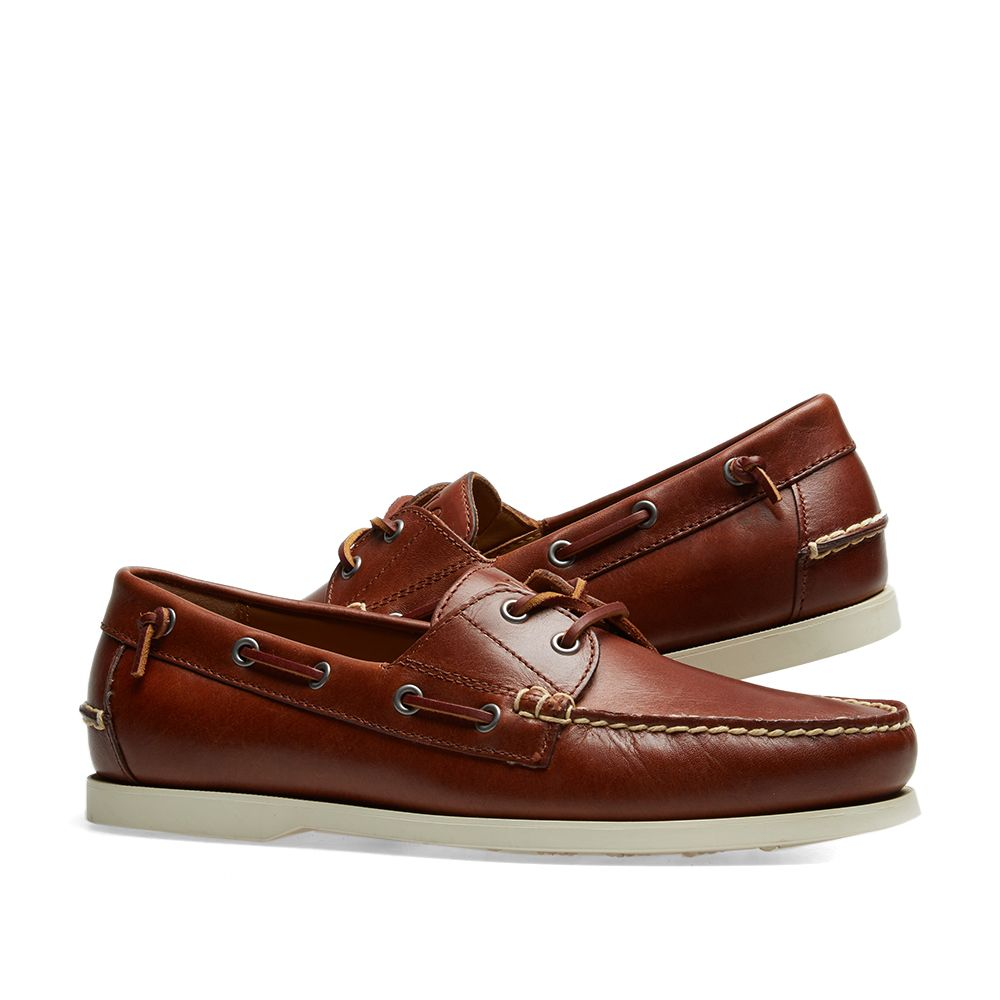 5d6c8150b119 Polo Ralph Lauren Merton Boat Shoe Deep Saddle Tan
