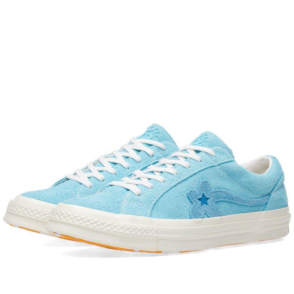 Converse X Golf Le Fleur One Star Bachelor Blue End