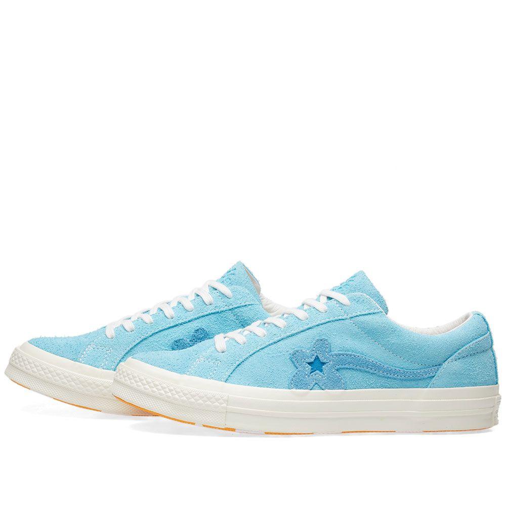 164fdf801b9e4f Converse x Golf Le Fleur One Star Bachelor Blue