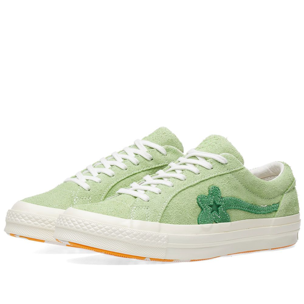 Converse X Golf Le Fleur One Star Jade Lime End