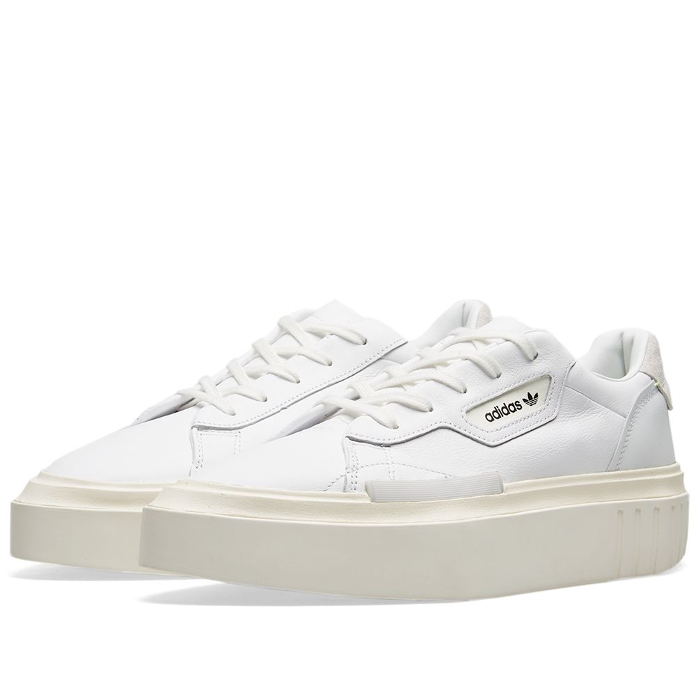 low priced d2e81 59230 Adidas Hypersleek W White, Off White  Crystal  END.