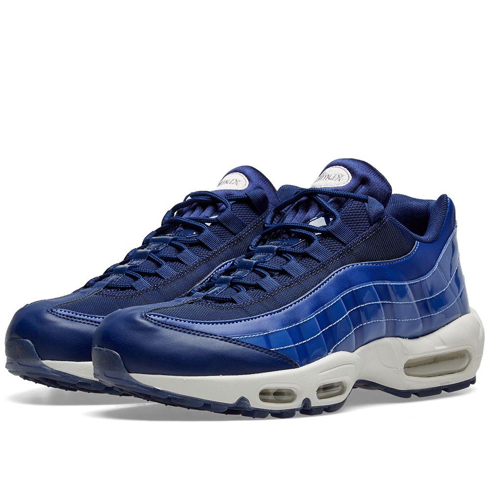 492bc659585a09 Nike Air Max 95 SE W Blue Void   White