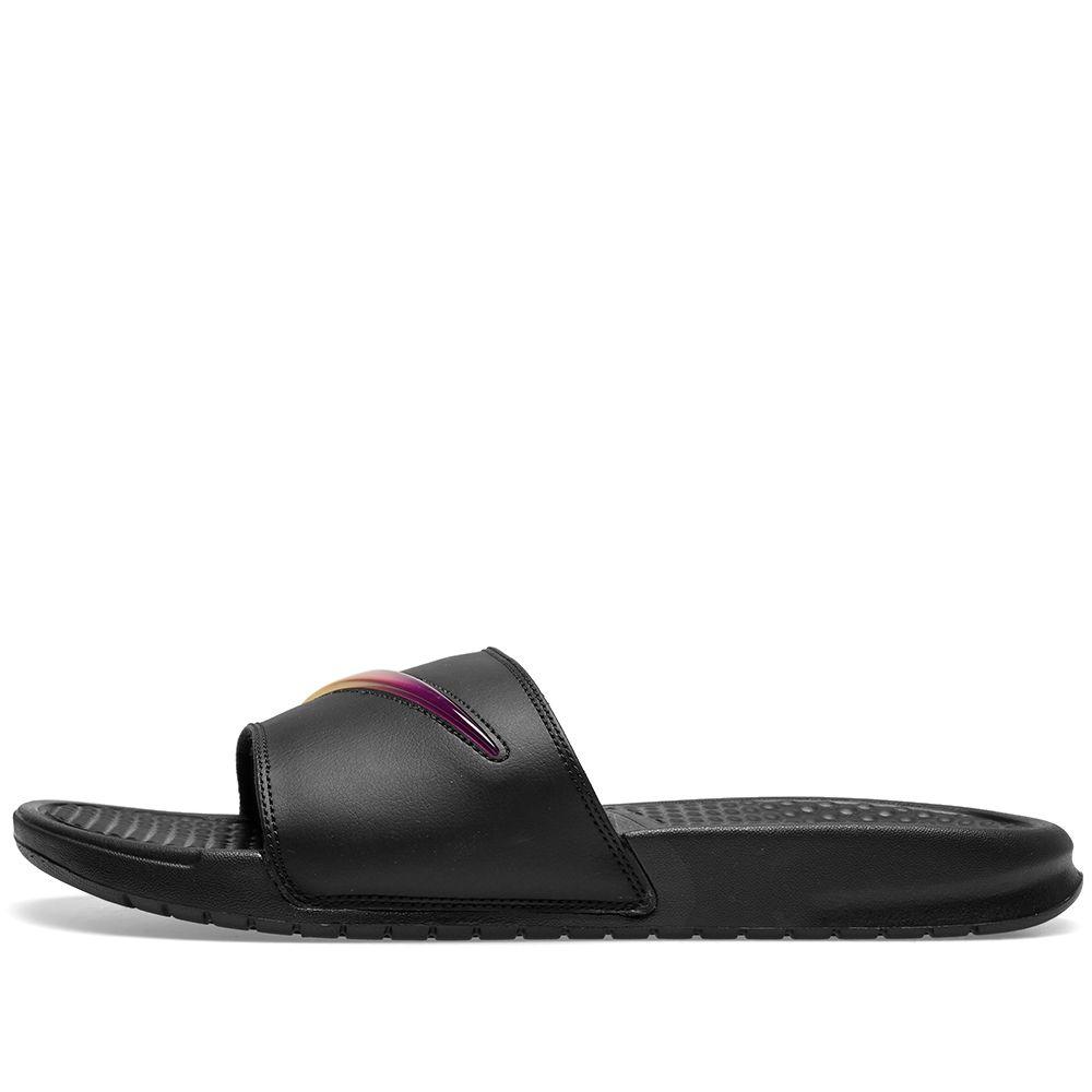 8b772514e83d Nike Benassi JDI SE  Jelly  Black