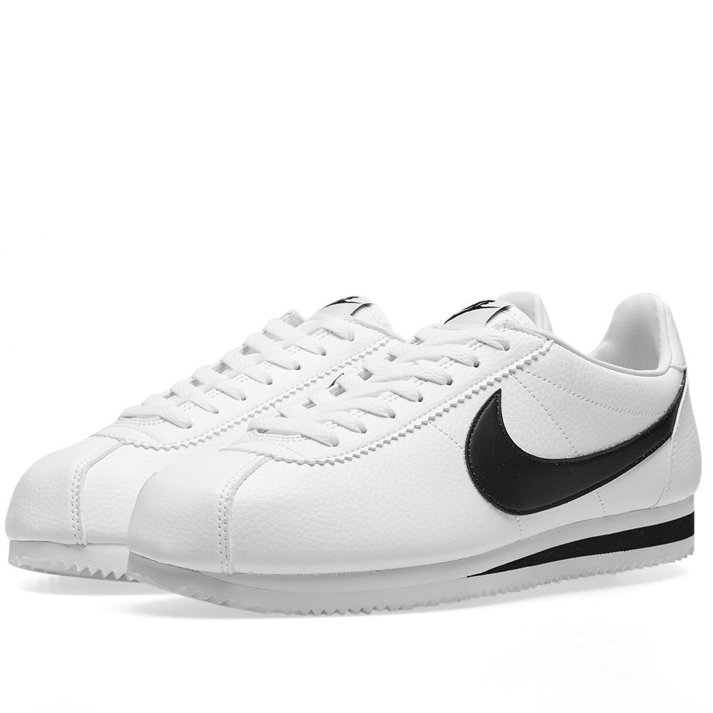 Nike Classic Cortez Leather White   Black  511d349bd