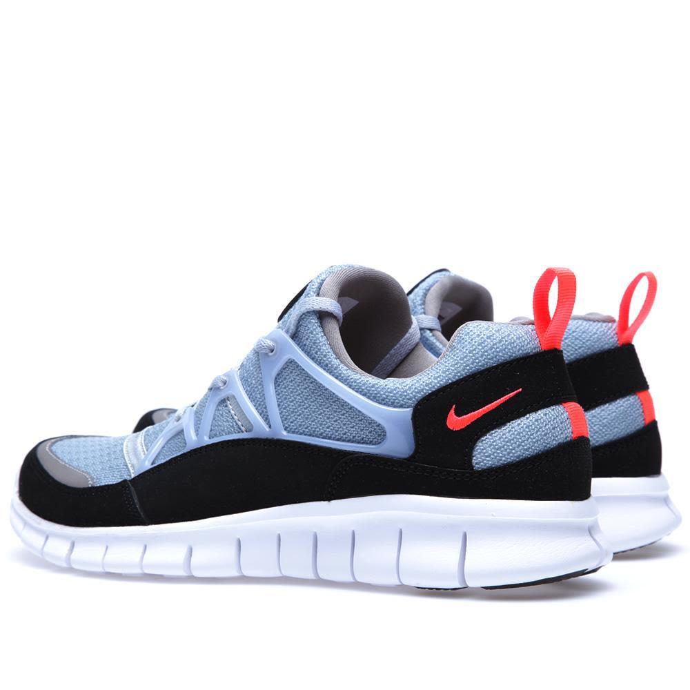 1c288cf3513e7 Nike Free Huarache Light Wolf Grey   Infared