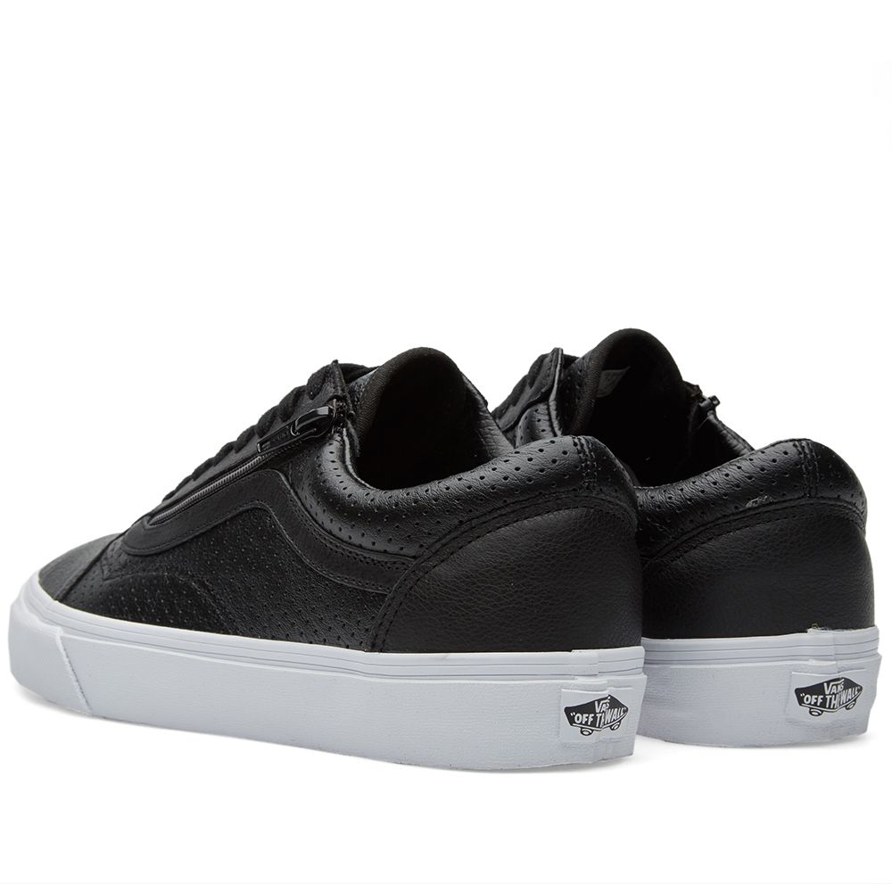 37f161f362 Vans Old Skool Zip Black Perforated