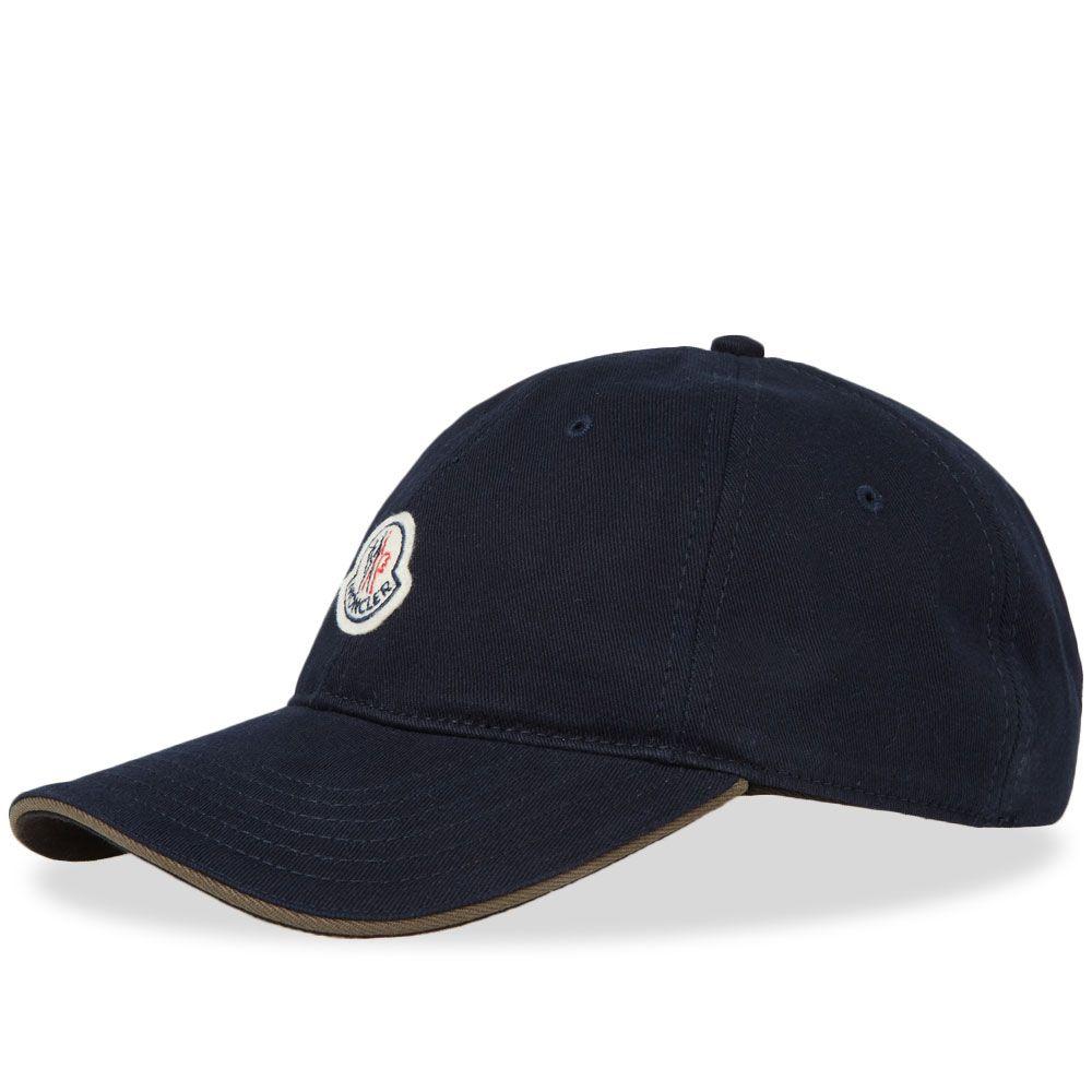 1c07db4baba Moncler Logo Baseball Cap Navy
